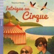 Libros: INTRIGUE AU CIRQUE + CD. Lote 180344868