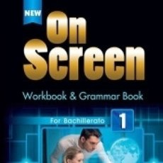 Libros: NEW ON SCREEN 1 WORKBOOK PACK. Lote 180349302