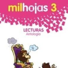 Libros: LECTURAS 3: MILHOJAS. Lote 180439798