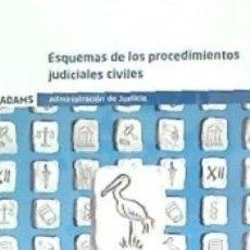 Libros: ESQUEMAS DE LOS PROCEDIMIENTOS JUDICIALES CIVILES. Lote 180464205