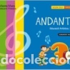 Libros: ANDANTE 3 VALENCIA+CD. Lote 180838368