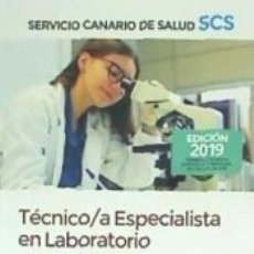 Libros: TÉCNICO/A ESPECIALISTA EN LABORATORIO DEL SERVICIO CANARIO DE SALUD. TEMARIO VOLUMEN 3. Lote 180853296