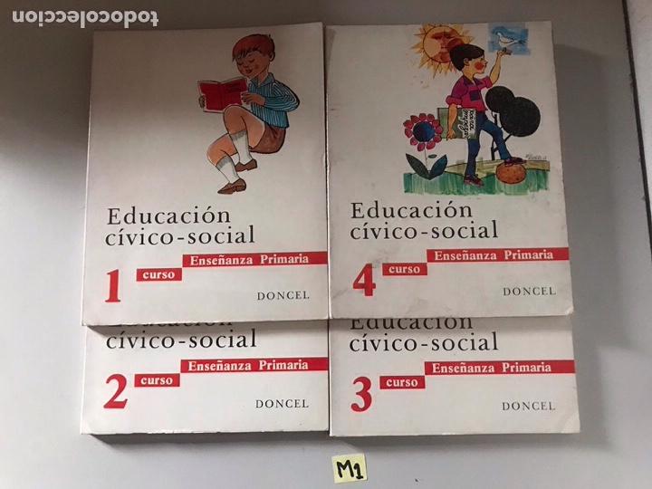 EDUCACIÓN CÍVICO SOCIAL (Libros Nuevos - Libros de Texto - ESA)