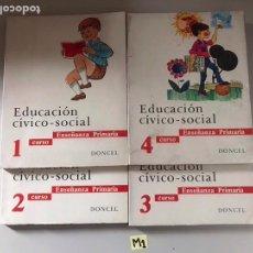 Libros: EDUCACIÓN CÍVICO SOCIAL. Lote 180895166