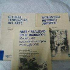 Libros: LOTE TRES LIBROS ARTE. Lote 180985387