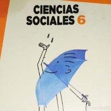 Libros: LIBRO DE TEXTO 6 ANAYA CIENCIAS SOCIALES. Lote 181921348