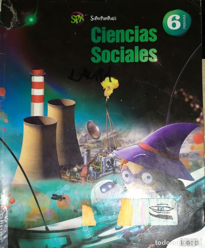 LIBRO DE TEXTO 6 ANAYA CIENCIAS SOCIALES SUPERPIXEPOLIS (Libros Nuevos - Libros de Texto - ESO)