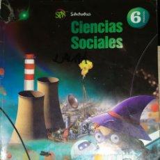 Libros: LIBRO DE TEXTO 6 ANAYA CIENCIAS SOCIALES SUPERPIXEPOLIS. Lote 181922443