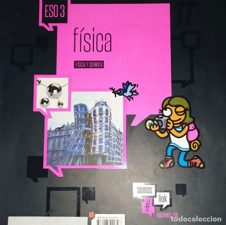 TERCERO DE ESO FISICA Y QUIMICA SOMOS LINK EDELVIVES #LINK (Libros Nuevos - Libros de Texto - ESO)