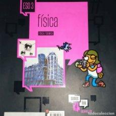 Libros: TERCERO DE ESO FISICA Y QUIMICA SOMOS LINK EDELVIVES #LINK. Lote 181928813
