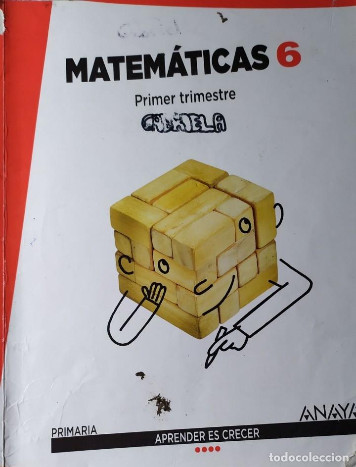 MATEMATICAS DE PRIMARIA DE ANAYA APRENDER ES CRECER PRIMER SEGUNDO Y TERCER TRIMESTRE TRES CUADERNOS (Libros Nuevos - Libros de Texto - ESO)