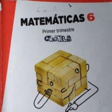 Libros: MATEMATICAS DE PRIMARIA DE ANAYA APRENDER ES CRECER PRIMER SEGUNDO Y TERCER TRIMESTRE TRES CUADERNOS. Lote 181932078