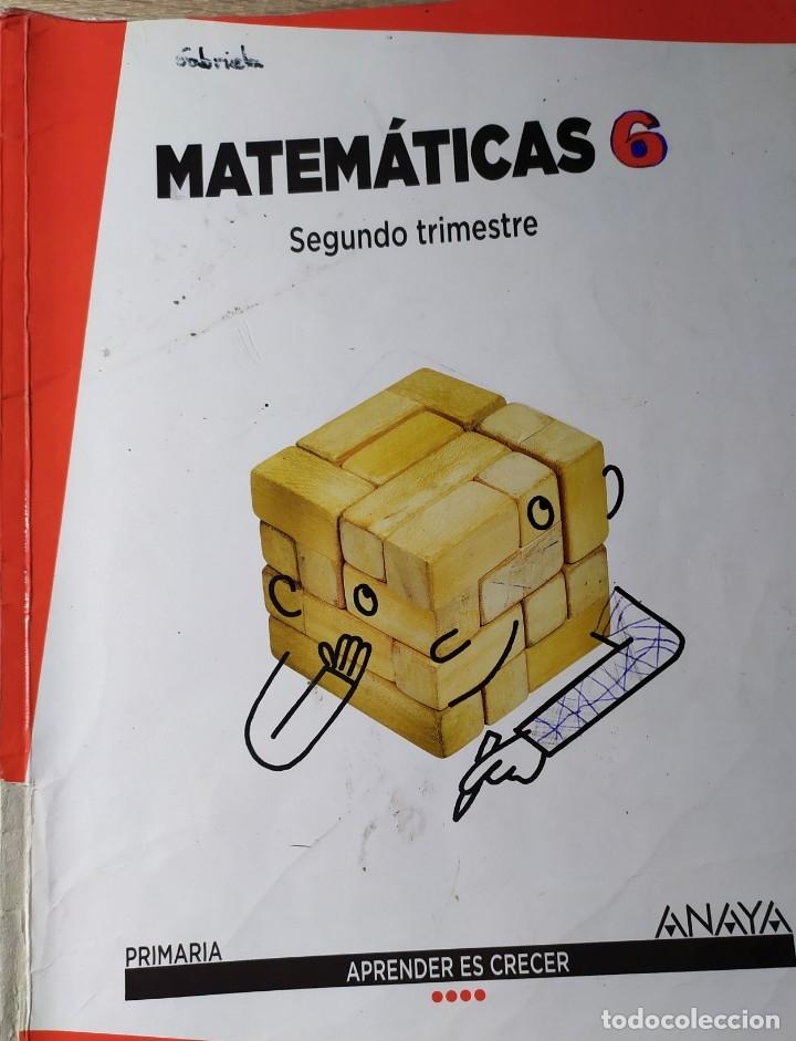 Libros: MATEMATICAS DE PRIMARIA DE ANAYA APRENDER ES CRECER PRIMER SEGUNDO Y TERCER TRIMESTRE TRES CUADERNOS - Foto 2 - 181932078