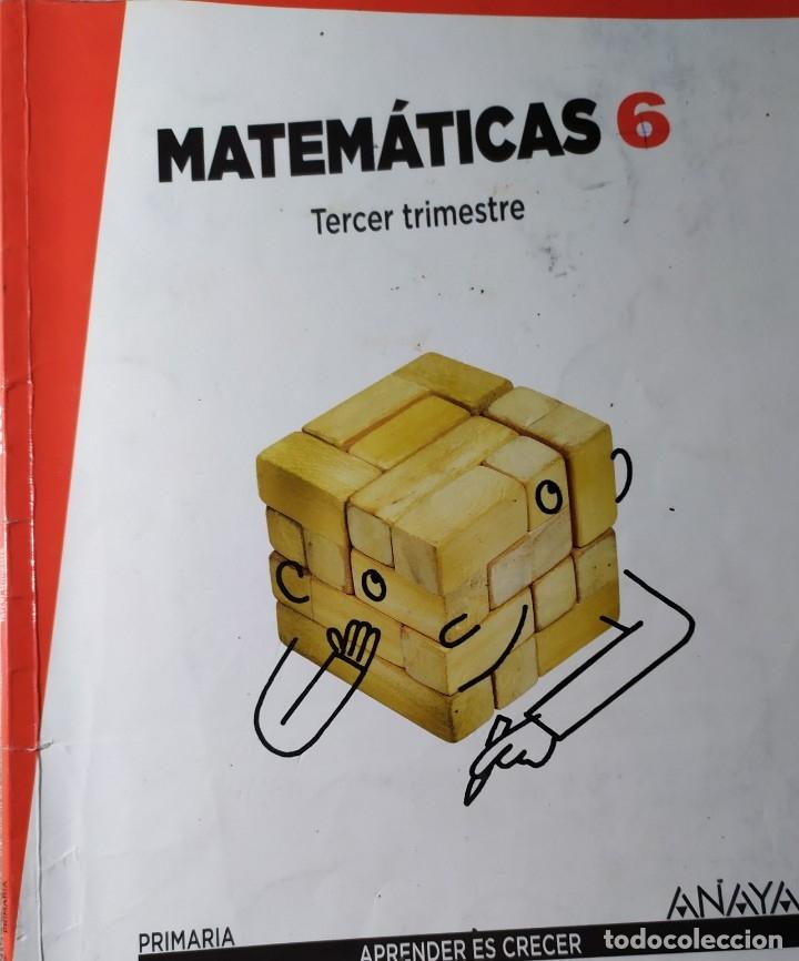 Libros: MATEMATICAS DE PRIMARIA DE ANAYA APRENDER ES CRECER PRIMER SEGUNDO Y TERCER TRIMESTRE TRES CUADERNOS - Foto 3 - 181932078