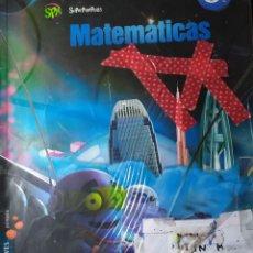 Libros: MATEMATICAS PRIMER TRIMESTRE DE SEXTO DE PRIMARIA. Lote 181934955