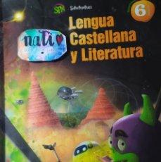 Libros: SPX LENGUA CASTELLANA Y LITERATURA DE TERCER TRIMESTRE DE SEXTO SEXTO PRIMARIA. Lote 181936876