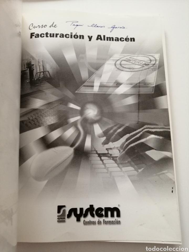 Libros: Curso de Facturación y Almacén. 2003 - Foto 2 - 182969786