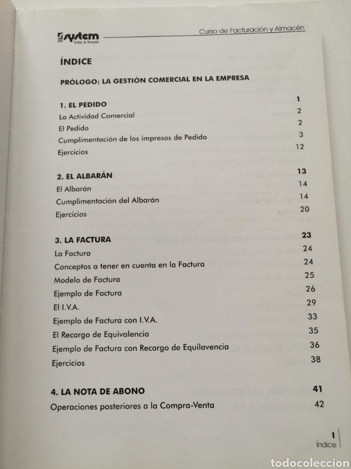 Libros: Curso de Facturación y Almacén. 2003 - Foto 4 - 182969786