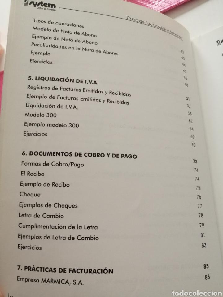 Libros: Curso de Facturación y Almacén. 2003 - Foto 5 - 182969786