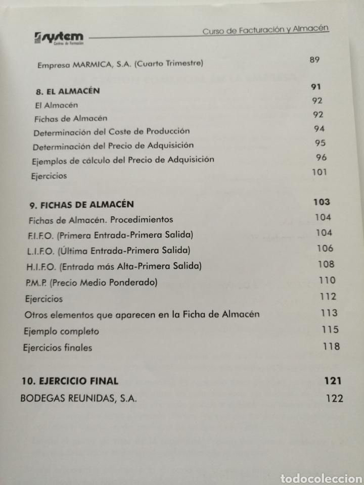 Libros: Curso de Facturación y Almacén. 2003 - Foto 6 - 182969786