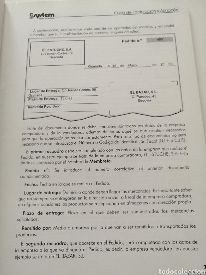 Libros: Curso de Facturación y Almacén. 2003 - Foto 8 - 182969786