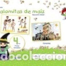 Libros: PROYECTO PALOMITAS DE MAÍZ. EDUCACIÓN INFANTIL. 4 AÑOS. PRIMER TRIMESTRE. Lote 183096090