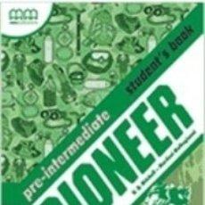 Libros: PIONEER PRE-INTERMEDIATE STUDENTS BOOK. Lote 183265906
