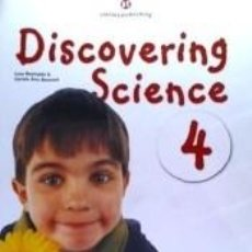 Libros: DISCOVERING SCIENCE 4 - STUDENTS BOOK. Lote 183384770