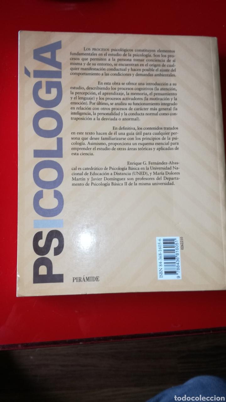 Libros: LIBRO PROCESOS PSICOLOGÍA - Foto 2 - 184186013