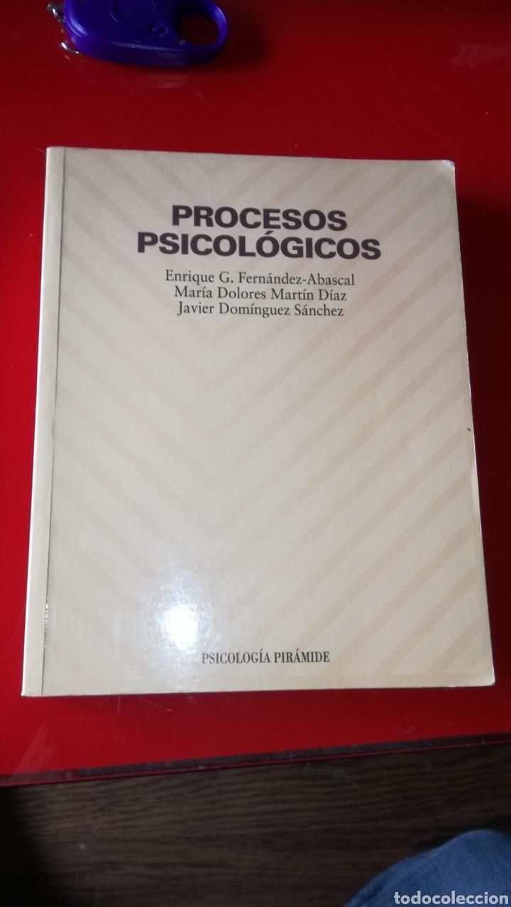 LIBRO PROCESOS PSICOLOGÍA (Libros Nuevos - Libros de Texto - ESA)