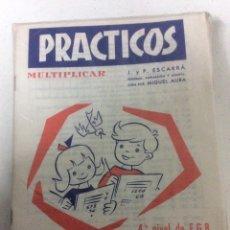 Libros: BLISTER CON 26 PRÁCTICOS DE MULTIPLICAR N 12 AÑO 1972. Lote 186460577