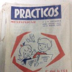 Libros: BLISTER CON 26 PRÁCTICOS DE MULTIPLICAR Nº 13, AÑO 1972, PRECINTADO DE FÁBRICA.. Lote 186460650