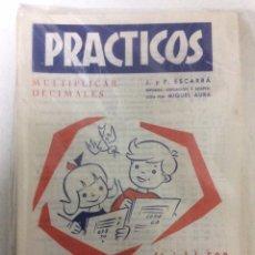 Libros: BLISTER CON 26 PRÁCTICOS DE MULTIPLICAR Nº 21, AÑO 1972, PRECINTADO DE FÁBRICA.. Lote 186460718