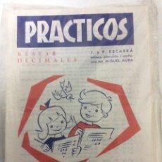 Libros: BLISTER CON 26 PRÁCTICOS DE MULTIPLICAR Nº 20, AÑO 1972, PRECINTADO DE FÁBRICA.. Lote 186460785