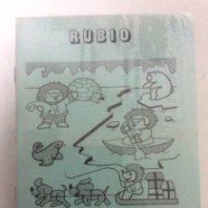 Libros: BLISTER CON 26 UNIDADES DE ESCRITURA Nº10 RUBIO AÑOS 80, SIN DESPRECINTAR. Lote 186461142