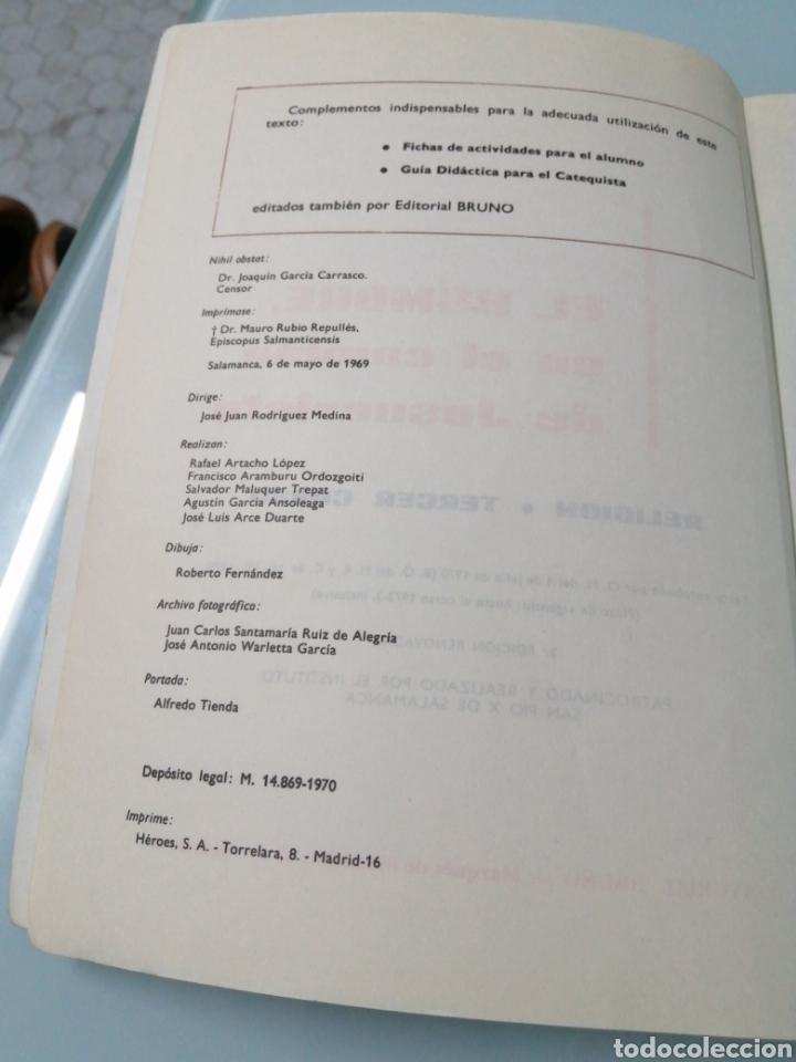 Libros: DOS VOLÚMENES EL HOMBRE EN EL CAMINO DE JESUCRISTO. BRUÑO. EN EL CAMINO DE JESUCRISTO. PPC.1969-1970 - Foto 4 - 188467241