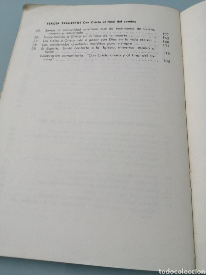 Libros: DOS VOLÚMENES EL HOMBRE EN EL CAMINO DE JESUCRISTO. BRUÑO. EN EL CAMINO DE JESUCRISTO. PPC.1969-1970 - Foto 13 - 188467241