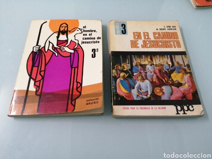 DOS VOLÚMENES EL HOMBRE EN EL CAMINO DE JESUCRISTO. BRUÑO. EN EL CAMINO DE JESUCRISTO. PPC.1969-1970 (Libros Nuevos - Libros de Texto - Bachillerato)