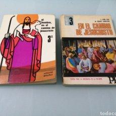Libros: DOS VOLÚMENES EL HOMBRE EN EL CAMINO DE JESUCRISTO. BRUÑO. EN EL CAMINO DE JESUCRISTO. PPC.1969-1970. Lote 188467241