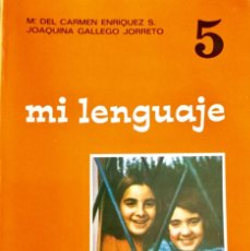Libros: MI LENGUAJE 5º EGB. EDELVIVES. AÑO 1974. SIN USAR.. Lote 189280103