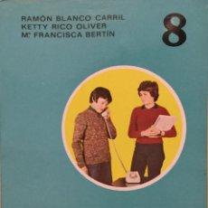 Livres: LEO Y COMENTO 8º EGB. EDELVIVES AÑO: 1976. SIN USAR.. Lote 189327532