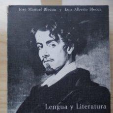 Libros: LENGUA Y LITERATURA ESPAÑOLAS 4º . 1970. TALLERES EDITORIALES LIBRERÍA GENERAL. Lote 190613048