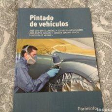 Libros: PINTADO DE VEHÍCULOS, JOSÉ LUIS GARCÍA JIMÉNEZ. Lote 191247727