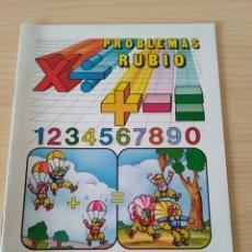 Libros: PROBLEMAS RUBIO 1A SUMAR LLEVANDO. NUEVO. Lote 191256982