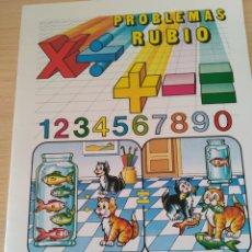 Libros: PROBLEMAS RUBIO. DIVIDIR VARIAS CIFRAS 4A. NUEVO. Lote 191268620