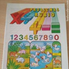 Libros: PROBLEMAS RUBIO 5A SUMAR, RESTAR, MULTIPLICAR Y DIVIDIR. Lote 191269187