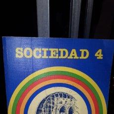 Livres: LIBRO SOCIEDAD 4 SANTILLANA REGION DE MURCIA. Lote 191301298