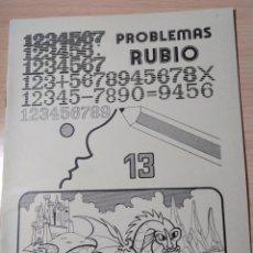 Livres: PROBLEMAS RUBIO 13. NUEVO VINTAGE. Lote 191326003