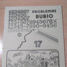 Livres: PROBLEMAS RUBIO 17. NUEVO VINTAGE. Lote 283034528