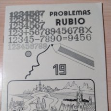 Livres: PROBLEMAS RUBIO 19. NUEVO VINTAGE. Lote 283034578